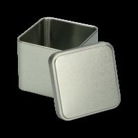 Blikje vierkant zilver 50g