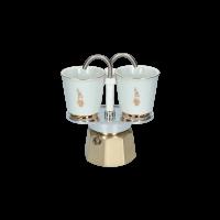 Bialetti Mini Express Goud 2 kops